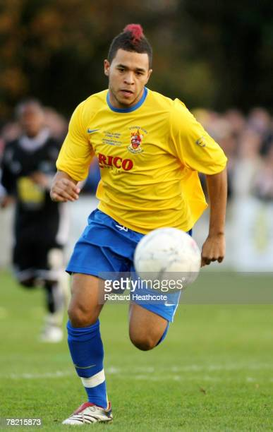 Lewis Cook of Staines during the FA Cup 2nd Round match between Staines Town and Peterborough United at Wheatsheaf Park on 1 December, 2007 in...