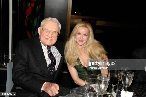 Lewis Cullman, Fiona Druckenmiller attend the New York Stem Cell Foundation's Fall Gala Dinner at Rockefeller University on October 13, 2009 in New...