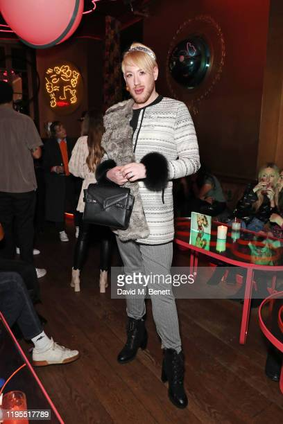 Lewis DuncanWeedon attends the launch of Muse by Coco De Mer at Sketch on January 23 2020 in London England