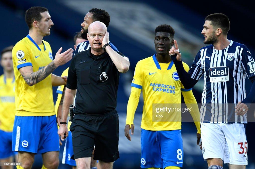 West Bromwich Albion v Brighton & Hove Albion - Premier League : News Photo