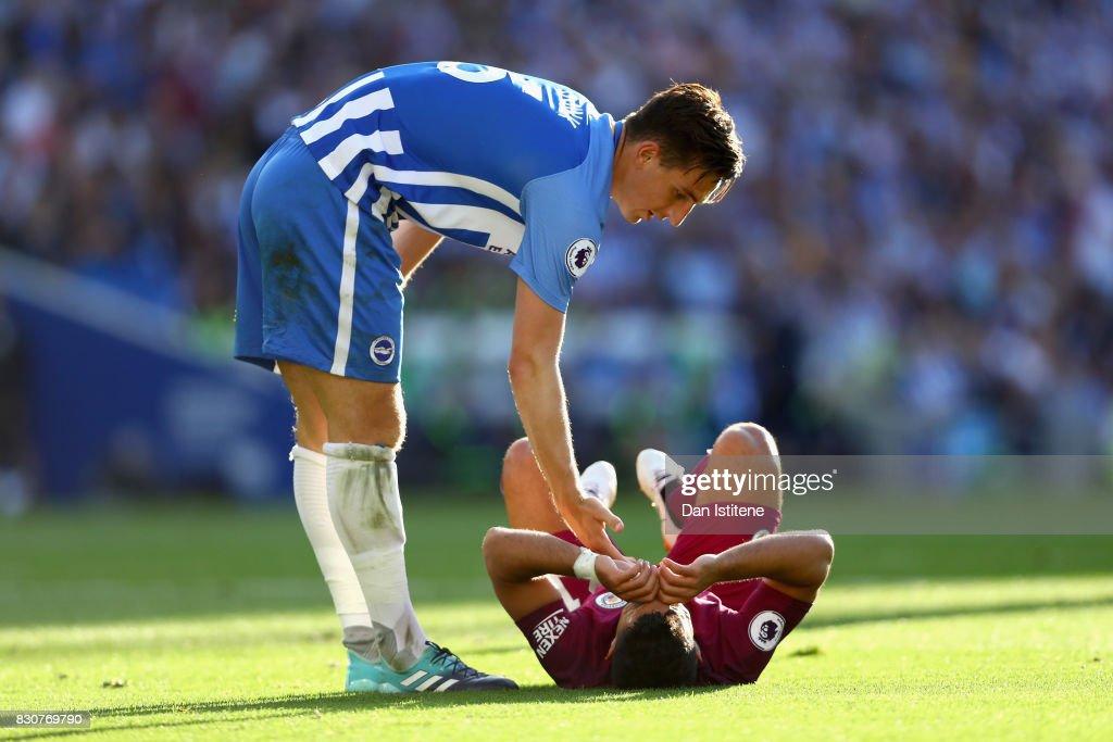 Brighton and Hove Albion v Manchester City - Premier League