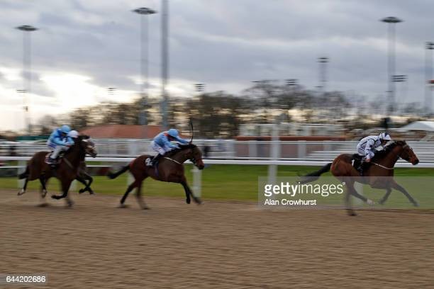 Lewis Edmunds riding Nautical Haven win The winnercouk Bet Watch Handicap only for the race to be declatred void by the stewards at Chelmsford...