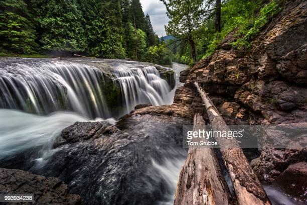 Lewis Falls Cascade