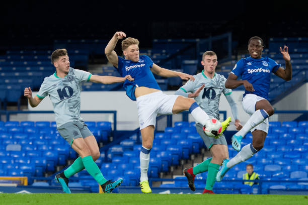 GBR: Everton v Blackburn Rovers: Premier League 2