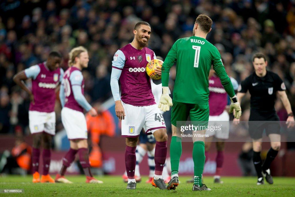 Aston Villa v Preston North End - Sky Bet Championship : Foto di attualità