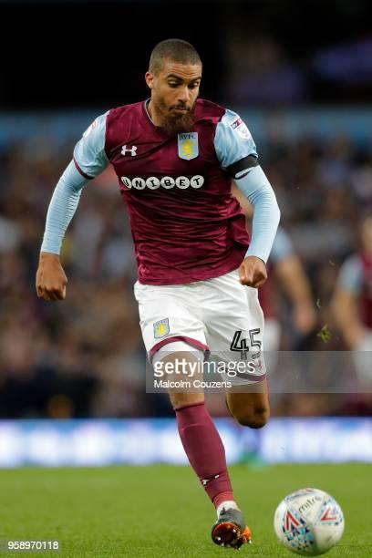 Lewis Grabban of Aston Villa during the Sky Bet Championship Play Off Semi FinalSecond Leg match between Aston Villa and Middlesbrough at Villa Park...