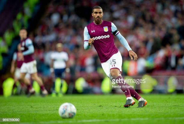 Lewis Grabban of Aston Villa during the Sky Bet Championship Play Off Semi Final Second Leg match between Aston Villa and Middlesbrough at Villa Park...