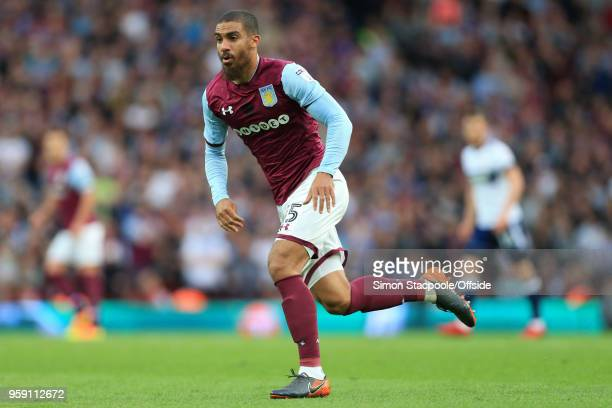 Lewis Grabban of Villa in action during the Sky Bet Championship Play Off Semi Final Second Leg match between Aston Villa and Middlesbrough at Villa...