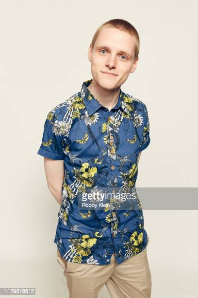 Lewis Gribben of the film 'Boyz In The Wood' poses for a portrait at the 2019 SXSW Film Festival Portrait Studio on March 9 2019 in Austin Texas