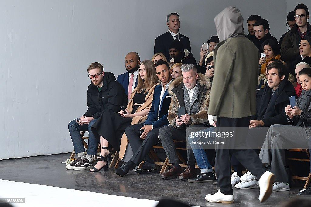 N. Hoolywood - Front Row - Mercedes-Benz Fashion Week Fall 2015