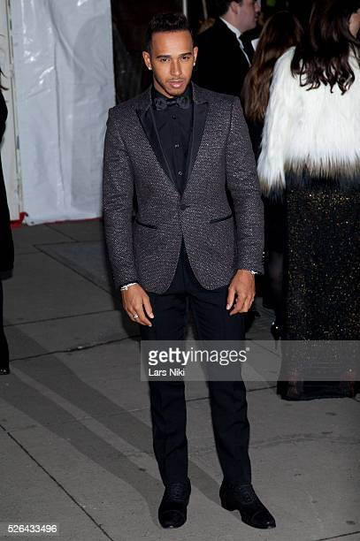 Lewis Hamilton attends the '2016 amfAR' New York Gala outside arrivals at Cipriani Wall Street in New York City �� LAN