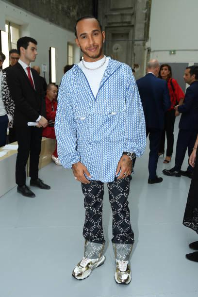 FRA: Valentino : Front Row - Paris Fashion Week - Menswear Spring/Summer 2020