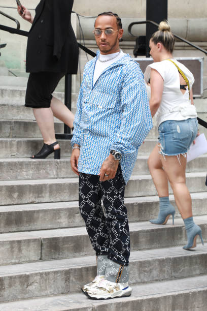 FRA: Valentino : Outside Arrivals - Paris Fashion Week - Menswear Spring/Summer 2020