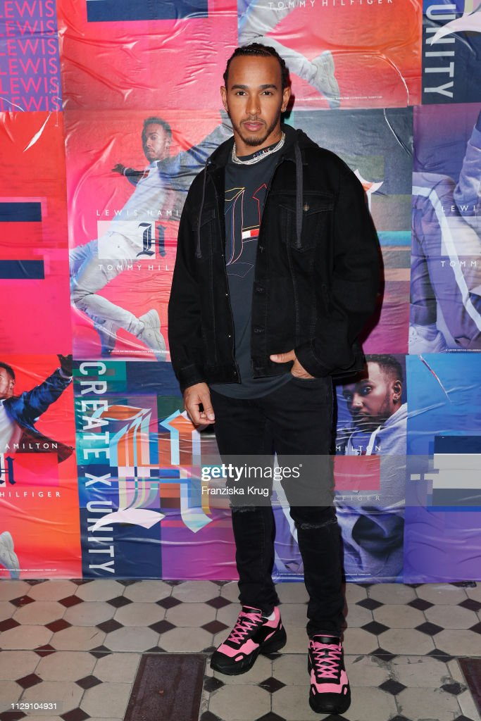 """DEU: Tommy Hilfiger """"CREATE X UNITY"""" Launch Event With Lewis Hamilton In Berlin"""