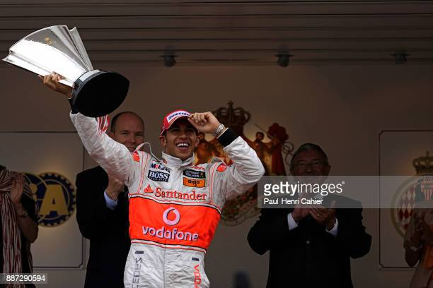Lewis Hamilton Grand Prix of Monaco Circuit de Monaco 25 May 2008