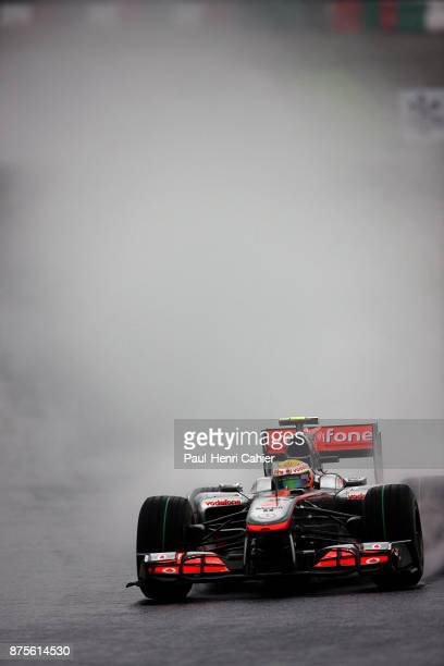 Lewis Hamilton, McLaren-Mercedes MP4-25, Grand Prix of Japan, Suzuka Circuit, 10 October 2010.