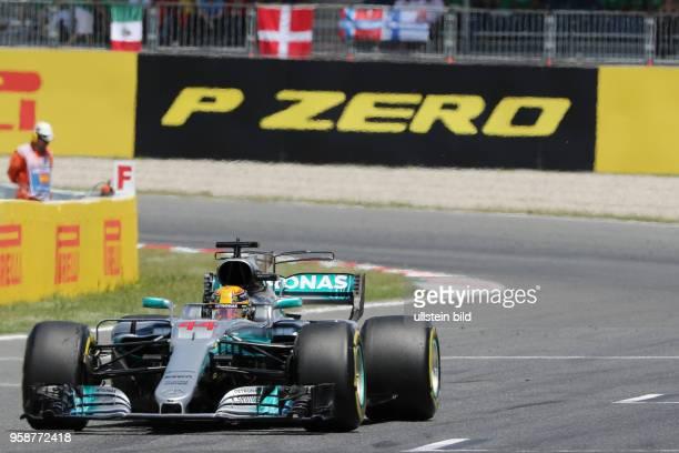 Lewis Hamilton; Mercedes Grand Prix, formula 1 GP, Spanien in Barcelona