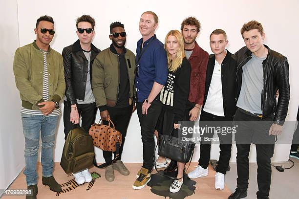 Lewis Hamilton Nick Grimshaw Tinie Tempah COACH Creative Director Stuart Vevers Dree Hemingway Robert Konjic Rafferty Law and George Barnett attend...