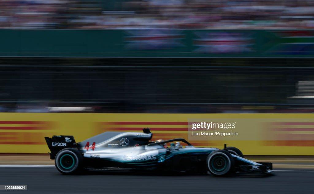 British F1 Grand Prix - Race : News Photo