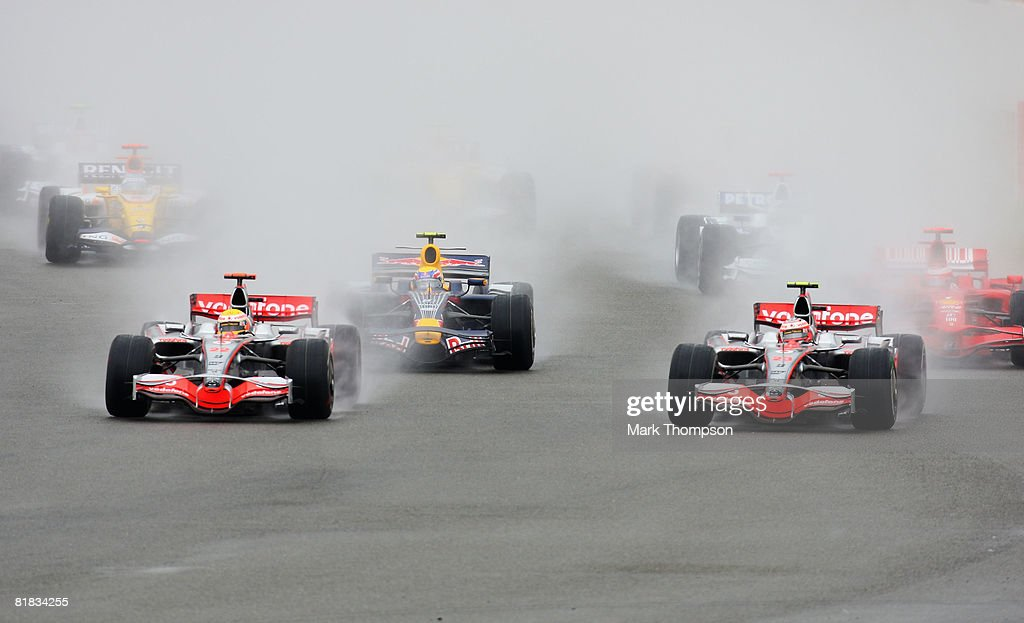 British Formula One Grand Prix: Race : News Photo