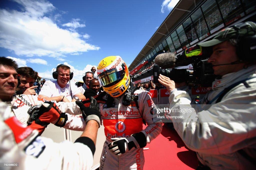 British Formula One Grand Prix: Qualifying : News Photo