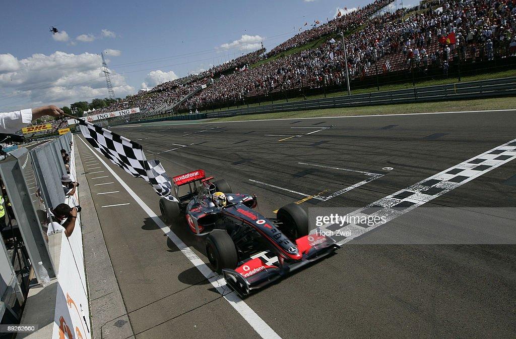 F1 Grand Prix of Hungary - Race : News Photo