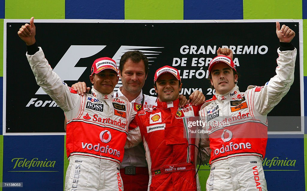 Spanish Formula One Grand Prix: Race : News Photo