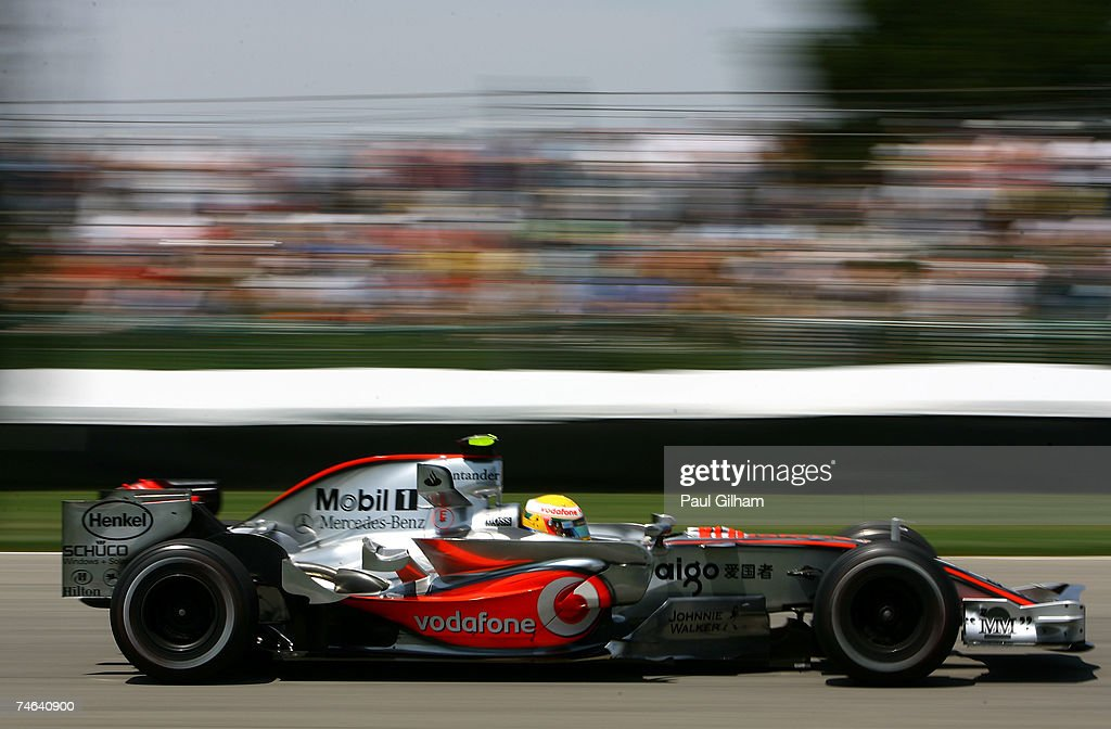 F1 Grand Prix of USA - Practice : News Photo