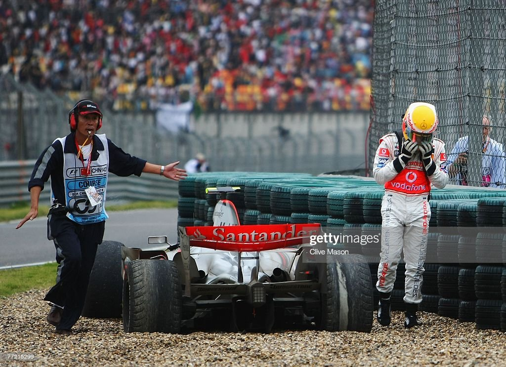 Chinese Formula One Grand Prix: Race : News Photo