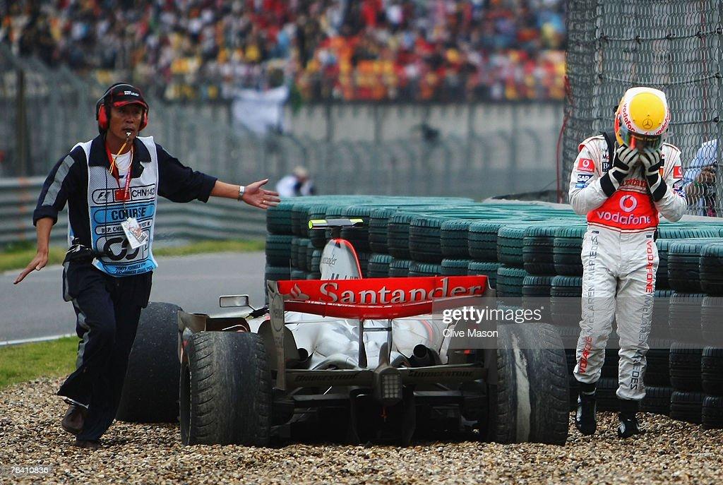 Chinese Formula One Grand Prix: Race : News Photo