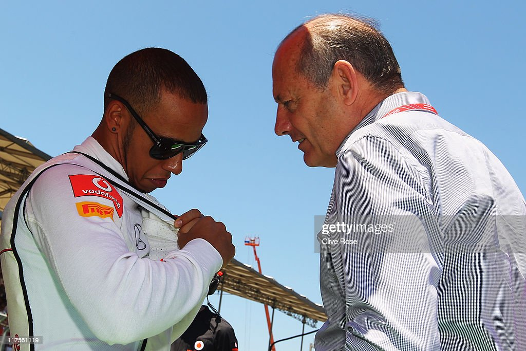 European F1 Grand Prix - Race : News Photo