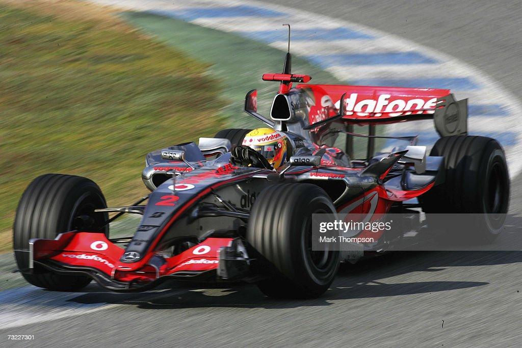 F1 Testing in Jerez : News Photo