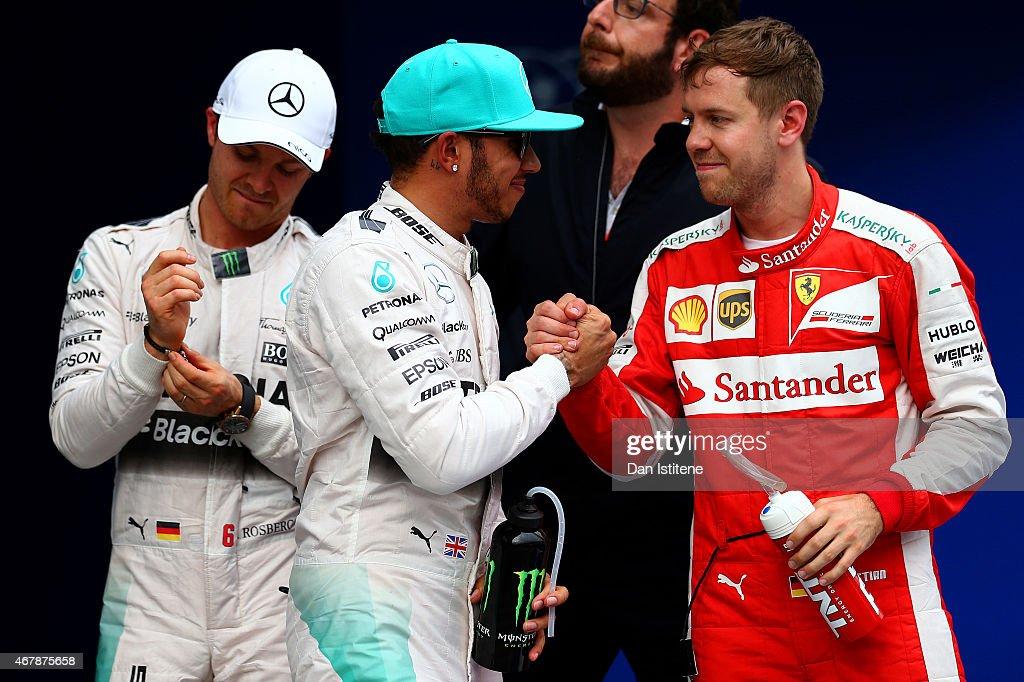 F1 Grand Prix of Malaysia - Qualifying : News Photo