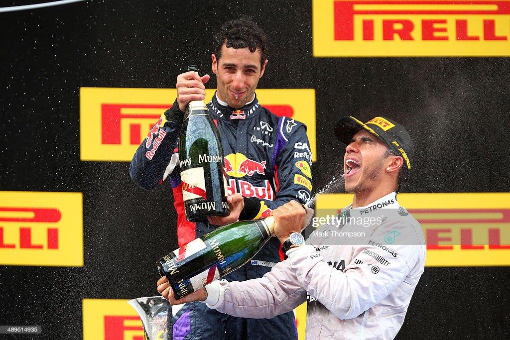 Spanish F1 Grand Prix - Race : News Photo