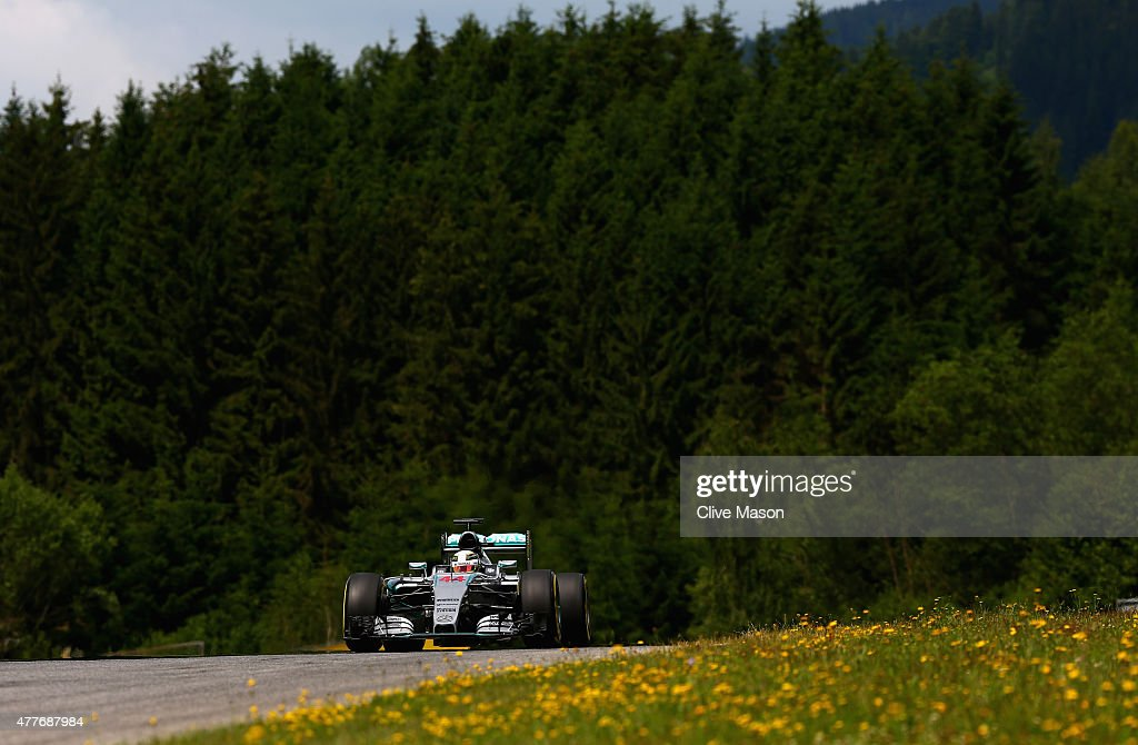 F1 Grand Prix of Austria - Practice : News Photo