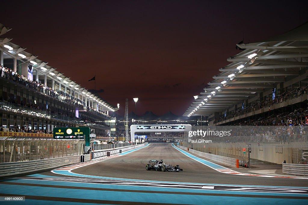 F1 Grand Prix of Abu Dhabi : Foto di attualità