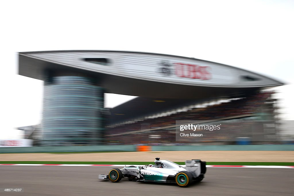 F1 Grand Prix of China : Nachrichtenfoto