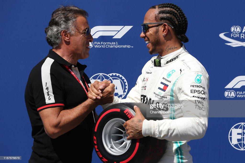 F1 Grand Prix of France - Qualifying : News Photo