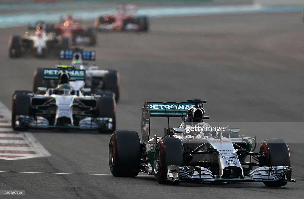 F1 Grand Prix of Abu Dhabi : ニュース写真