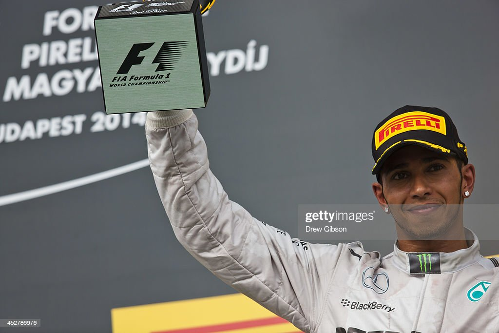 F1 Grand Prix of Hungary : News Photo