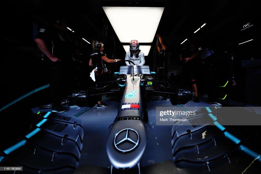 F1 Grand Prix of Great Britain - Qualifying : ニュース写真