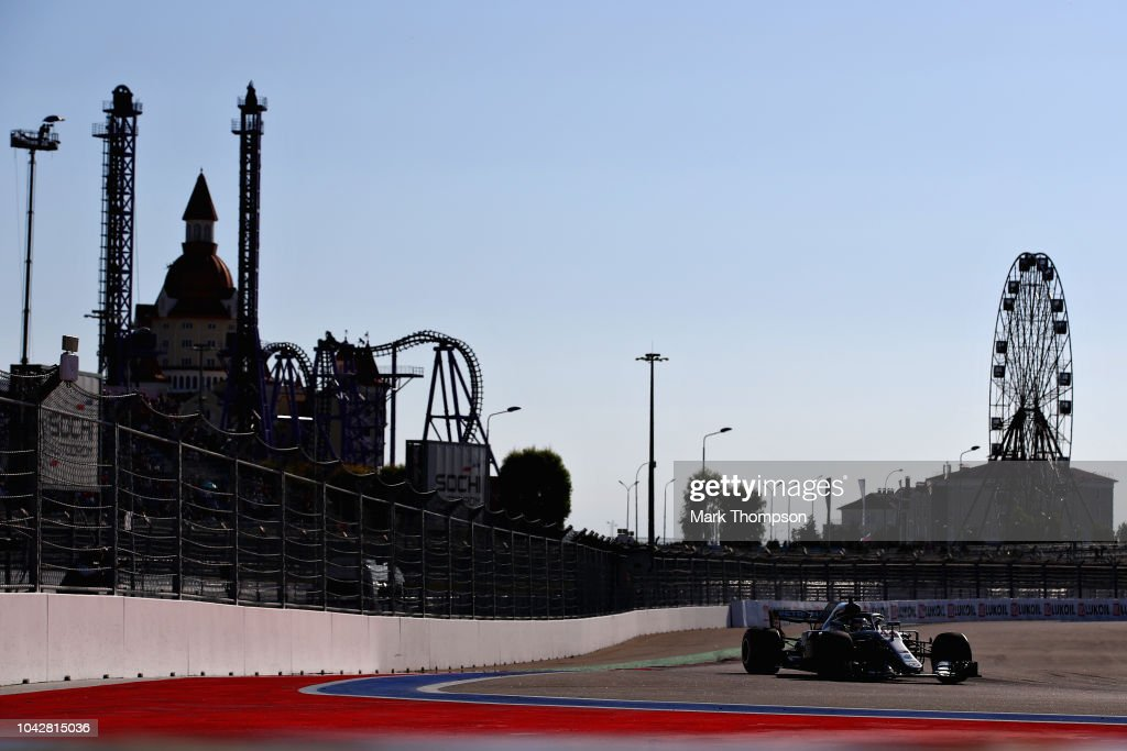 F1 Grand Prix of Russia - Qualifying : Photo d'actualité