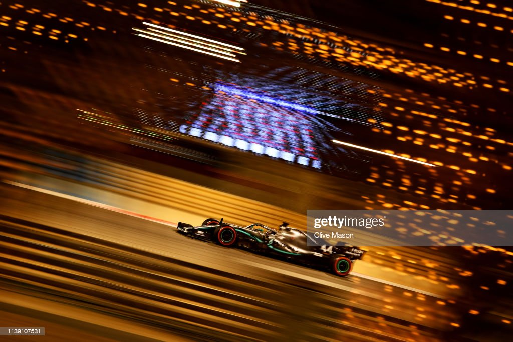 F1 Grand Prix of Bahrain - Practice : News Photo