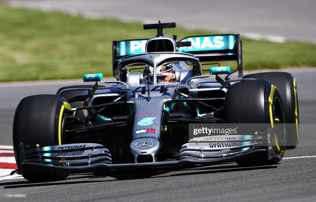 F1 Grand Prix of Canada - Practice : News Photo