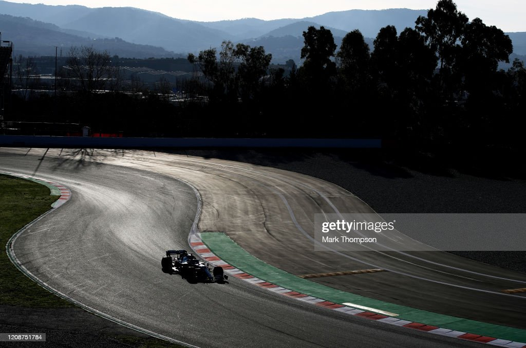 F1 Winter Testing in Barcelona - Day One : News Photo
