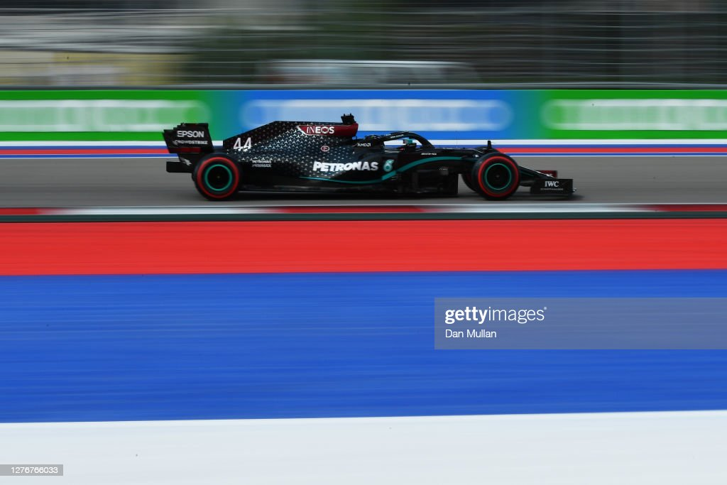 F1 Grand Prix of Russia - Final Practice : News Photo