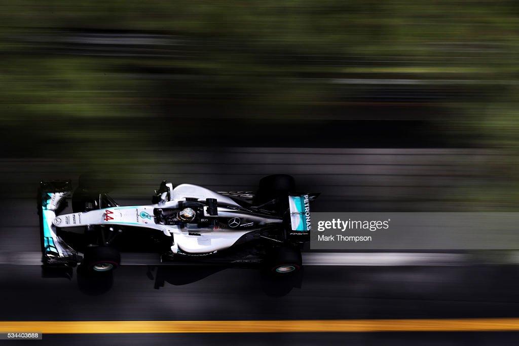 F1 Grand Prix of Monaco - Practice : ニュース写真