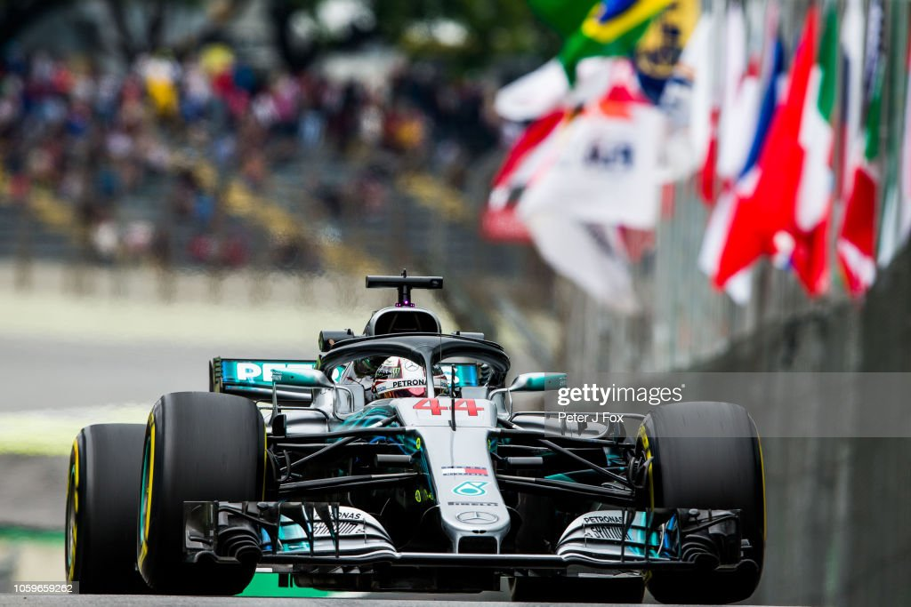F1 Grand Prix of Brazil - Practice : News Photo