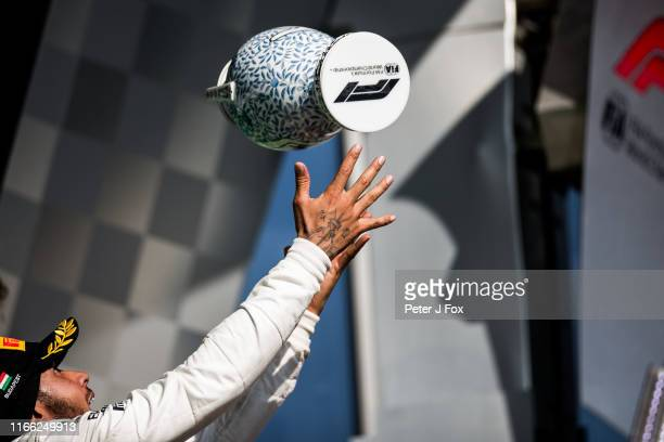 Lewis Hamilton of Mercedes and Great Britain during the F1 Grand Prix of Hungary at Hungaroring on August 04, 2019 in Budapest, Hungary.