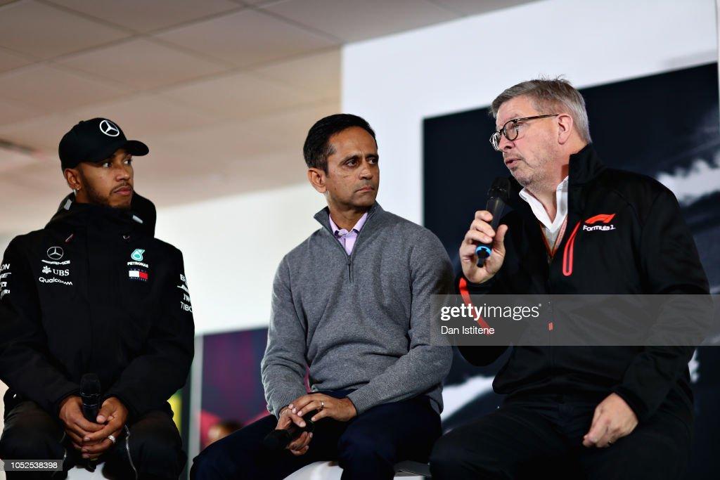 Tata Communications at the United States Grand Prix : News Photo